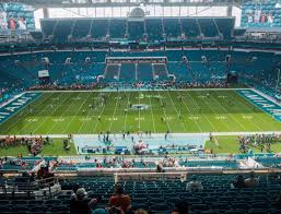 Miami Dolphins Hard Rock Stadium Seating Chart Hard Rock Stadium Section 318 Seat Views Seatgeek