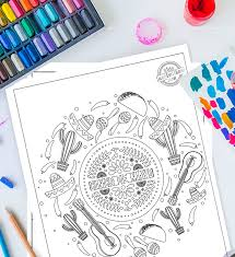 Don't forget to share your favorite cinco de. Free Printable Cinco De Mayo Coloring Pages For Kids