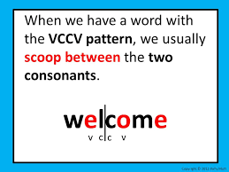 Vcv Pattern Enchanting Decoding Lesson 48 VCV And VCCV Syllable Pattern Ppt Video Online