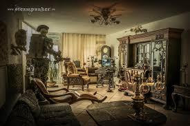 Steampunk living room by steamworker ...