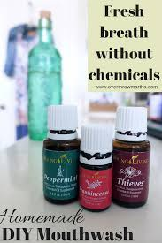 easy all natural mouthwash chemicalfree essentialoils thieves