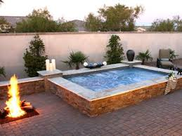 259 best pool ideas images on small pool hot tub combo