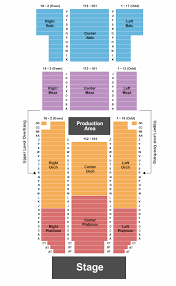 Bergen Pac Seating Chart Bergen Performing Arts Center Seating Chart Englewood