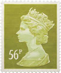 56p stamp rug stamp wall hanging