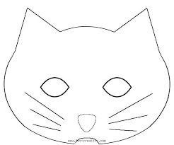 Small Picture Cat Mask Coloring Page 3386 2050 Face Catjpg Coloring Pages