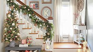 Brilliant Ideas Of Decorating Banisters for Christmas with Christmas  Decorating Ideas for Banisters Holiday Banister