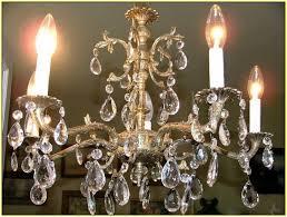 antique brass chandelier made in spain