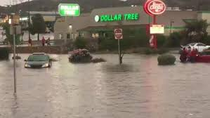 cars got stuck in flooding near mckelligon and mesa in west el paso kelly anne beile