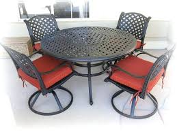 round outdoor furniture best round patio furniture with round table and swivel dining chairs outdoor patio