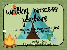 Camping Theme Writing Process Posters And Classroom