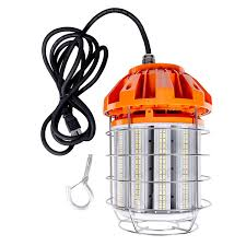 Drop Lights Automotive Hyperikon 125w Led Temporary Work Light Hanging For