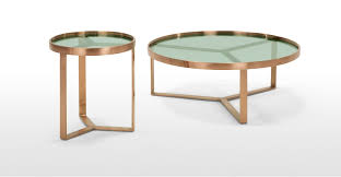 a set of 2 nesting coffee tables