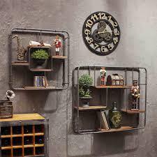 Deko Wandregal Iron Industrial Style Wand Hängen Regal Wand