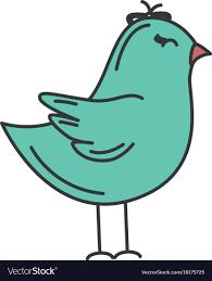 cute bird drawing flying. Delighful Cute Cute Bird Drawing Icon Vector Image To Bird Drawing Flying I