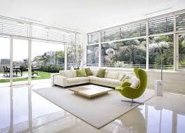modern white lounge chair. L-Shaped White Sofa Furniture And Lime Green Lounge Chair Modern A