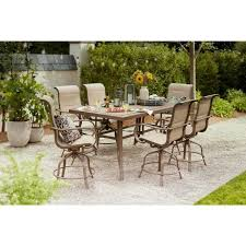 outdoor patio bar patio dining set