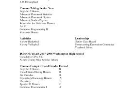 High School Senior Resume Examples Basic Teenagers Cv Secondary ...