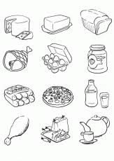Small Picture 9 Pics Of Five Food Groups Coloring Pages Food Group Coloring