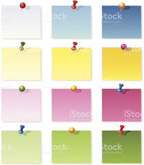 blank memo notes stock vector art 455466709 istock blank memo notes royalty stock vector art