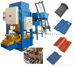 high quality concrete roof tile making machine tile making machine