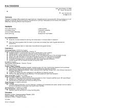 Residential Concierge Resume Sample