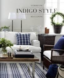 blue white striped rug blue59