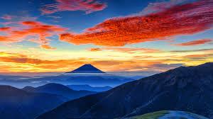 8k Background 7680x4320 Mount Fuji Panaromic 8k 8k Hd 4k Wallpapers Images