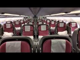 Qantas A380 Cabin Walkthrough Upper Deck Youtube