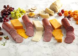 3rd street cheese sausage gift