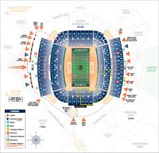 Auburn Stadium Seating Chart Jordan Hare Stadium Map Tigers Tickets Auburn Tigers Auburn