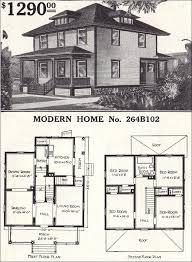4 square home plans fantastic modern foursquare home plans sears house