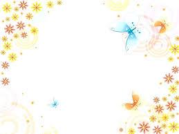 Teachers Powerpoint Templates Cute Powerpoint Templates For Teachers Flower Background Butterflies