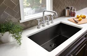 rohl luxury black snless steel kitchen sink