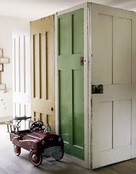 old doors as dividing wall photo by debi treloar photography