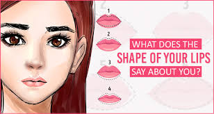 shape of lips tell about your personality