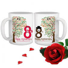 8th marriage anniversary gift