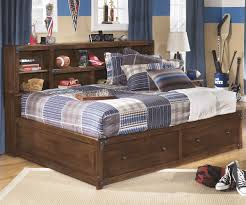 ashley full size bed with storage