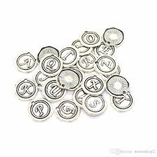 2019 wax seal antique silver a z letter alphabet charms pendant build your own round charms from susie2 22 34 dhgate com