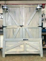 old door headboards simple barn doors with bed frame plans