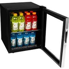 stainless steel beverage cooler mini fridge compact glass door can refrigerator 2