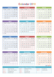Word Year Calendar 10 Yearly Calendar 2018 Templates Pdf Word Excel Get Printable
