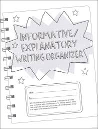 informative explanatory writing organizer grades  informative explanatory writing organizer grades 4 5 main photo cover