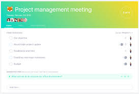 Agenda Of Meeting 5 Things To Add To Your Project Management Meeting Agenda