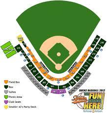 Long Island Ducks Seating Chart 9 14 12 At Bethpage Ballpark Junior Ballhawk