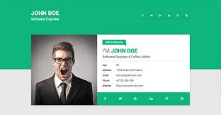 15 Best Html Resume Templates For Awesome Personal Sites With Resume