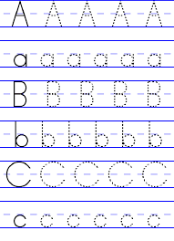Free ABC worksheets for pre-k printable as educational props in ...