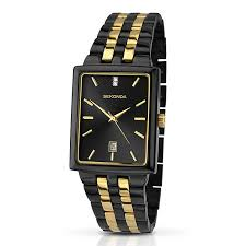 sekonda men s matte black stone set bracelet watch h samuel sekonda men s matte black stone set bracelet watch product number 3434818