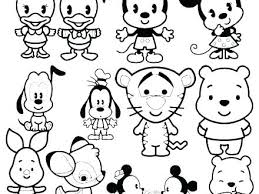 Tsum Tsum Stitch Coloring Pages Coloring Pages Download Coloring