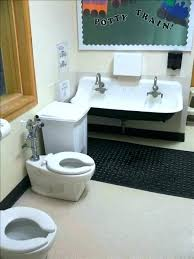 preschool bathroom sink. Play Sink With Running Water Child Sized Toilet Preschool Bathroom Simple On And Sinks