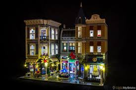 lego lighting. Assembly Square Lighting Kit For LEGO 10255 Set (LEGO Is NOT Included) By Lego